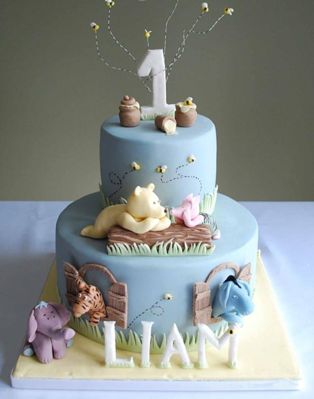 Baby Geburtstagstorte  Ideen für Motivtorten 55 Kuchen für Babys 1 Geburtstag
