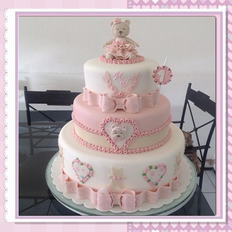 Baby Geburtstagstorte  Torten Inspirationen für den ersten Geburtstag