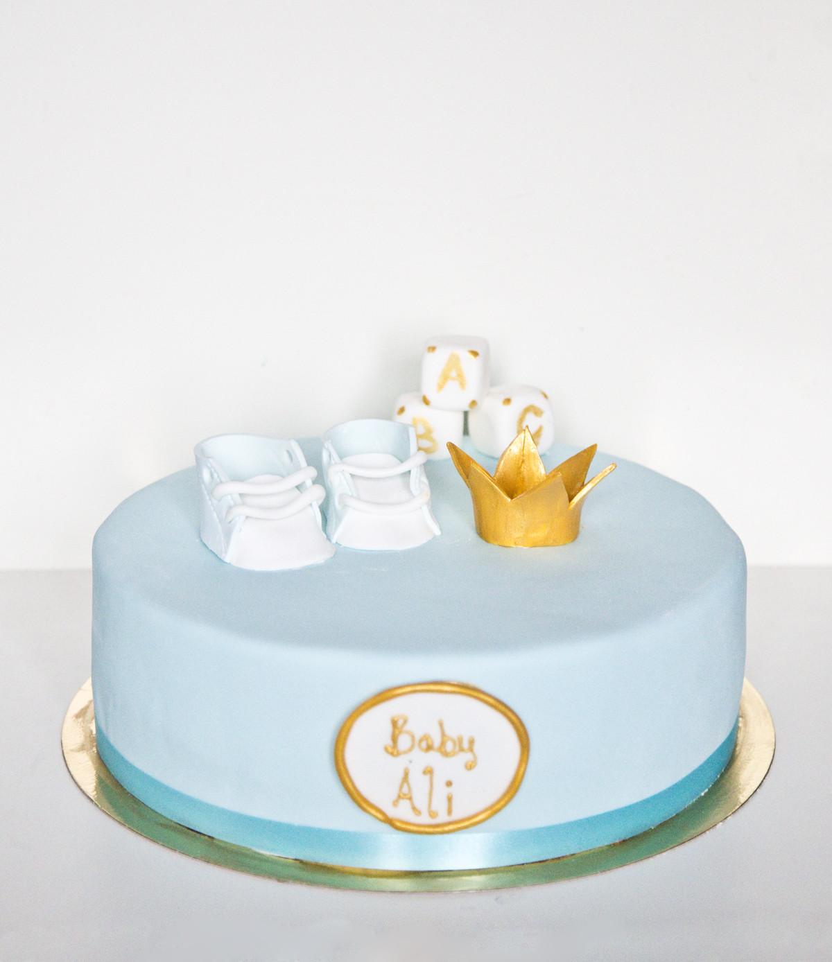 Baby Geburtstagstorte  Baby Junge Geburtstagstorte