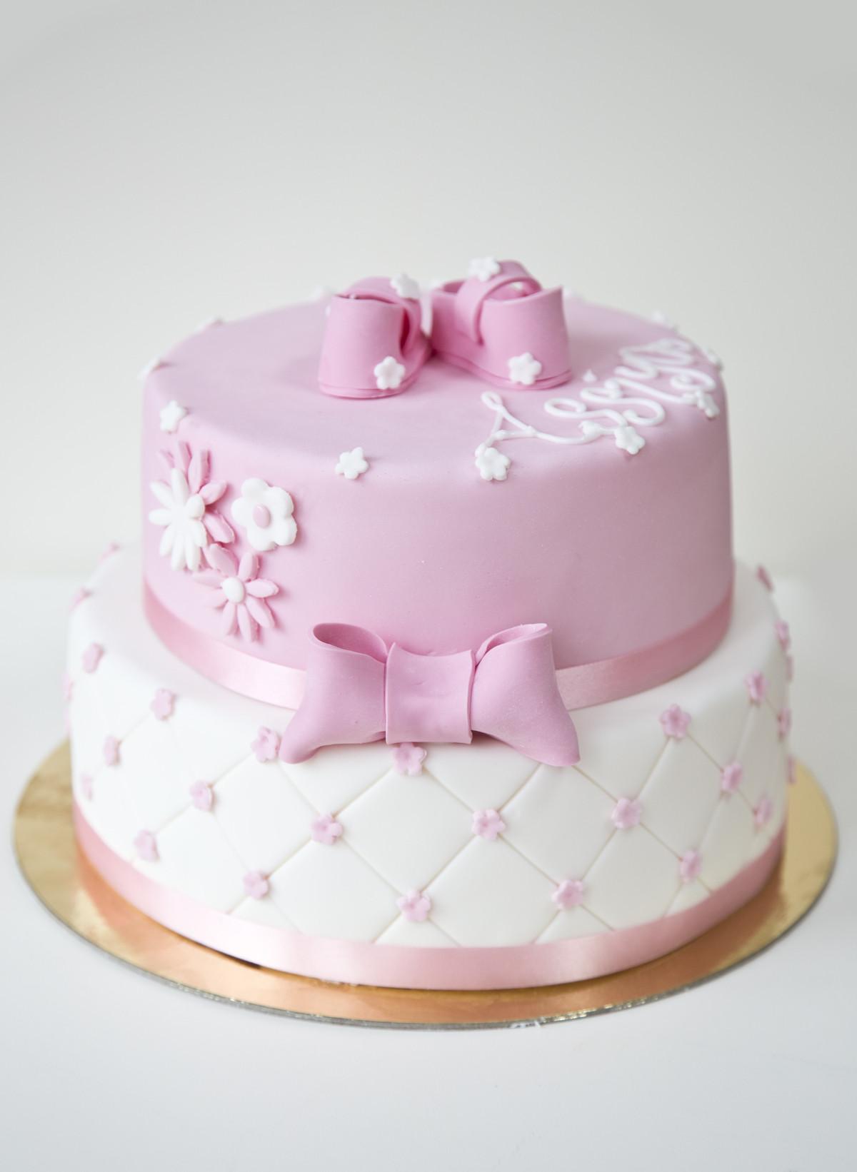 Baby Geburtstagstorte  Baby Party Torte 2