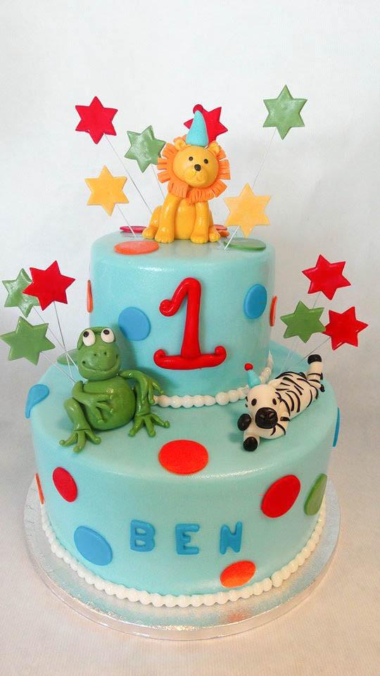 Baby Geburtstagstorte  Renates Torten Designs Renates Torten Design