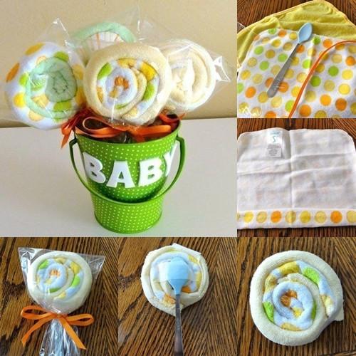 Baby Geschenke Selber Machen  55 Ideen für Babyparty Deko Geschenke und mehr