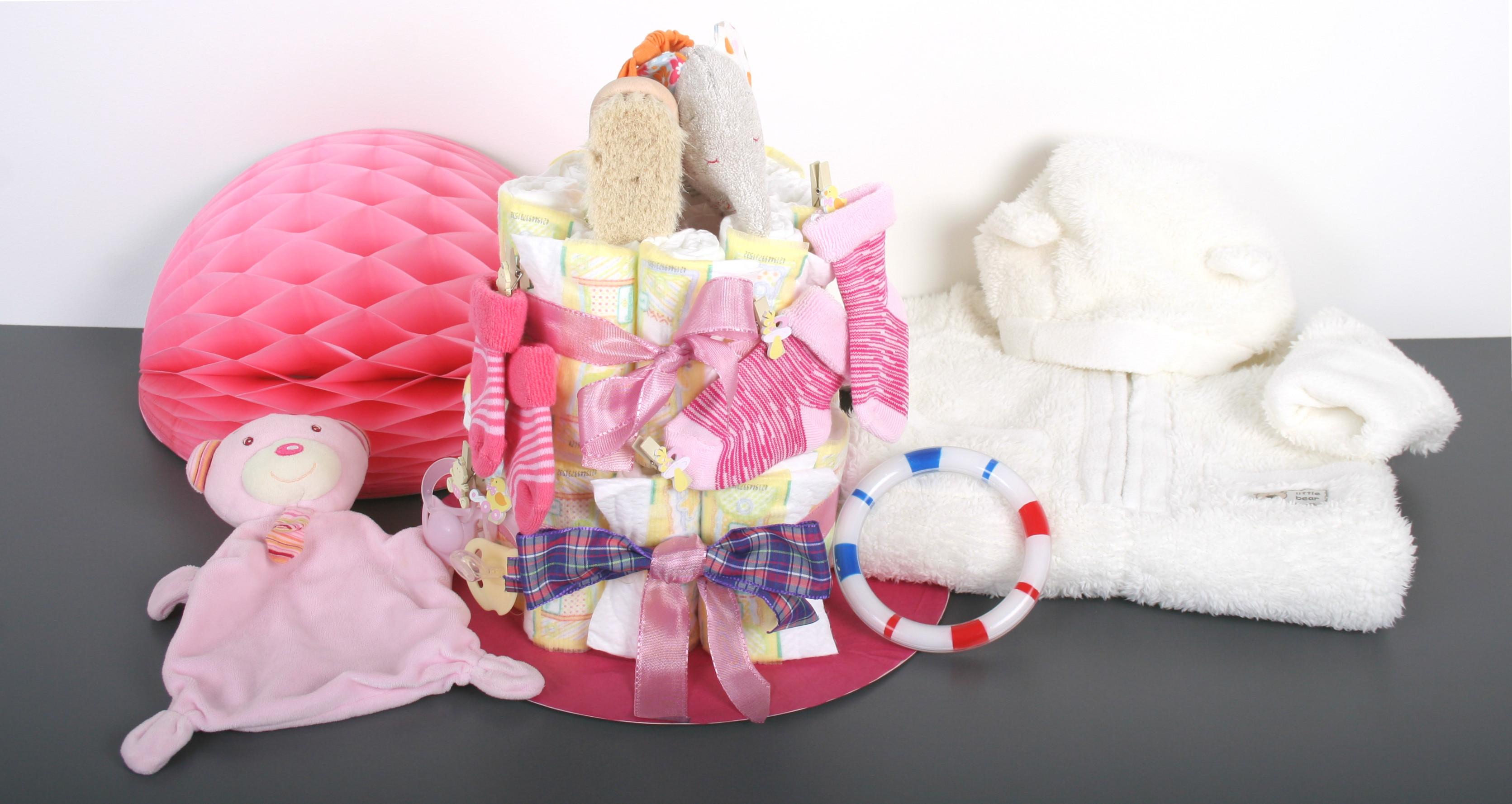 Baby Geschenke Selber Machen  Windeltorte selber machen Anleitung