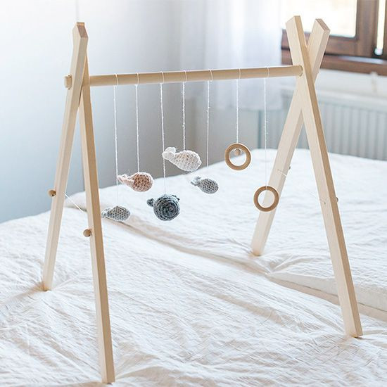 Baby Gym Diy  Make a simple and stylish gym for your baby with this easy