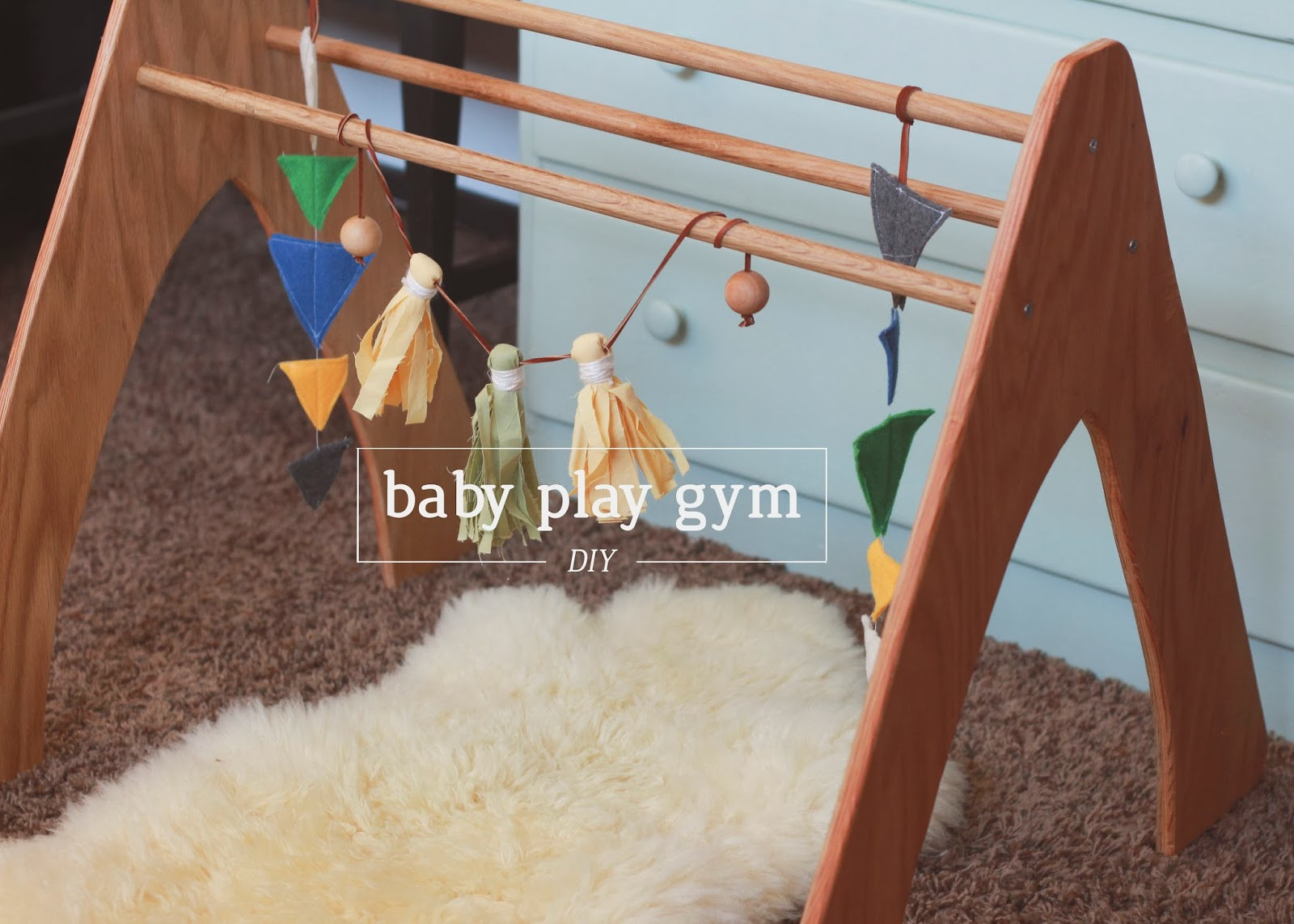 Baby Gym Diy  Nerd and Healthnut DIY Wooden Play Gym