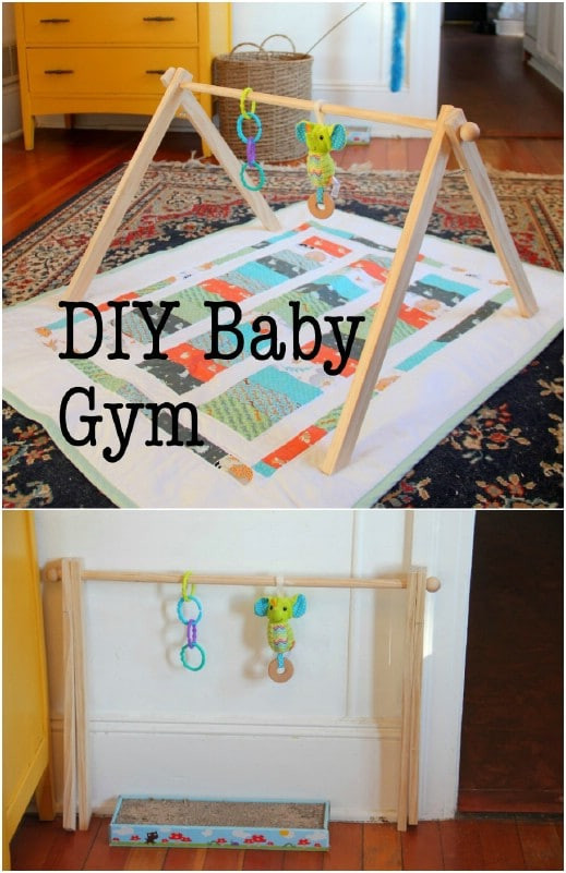 Baby Gym Diy  30 Fun And Educational Baby Toys You Can DIY In Your Spare
