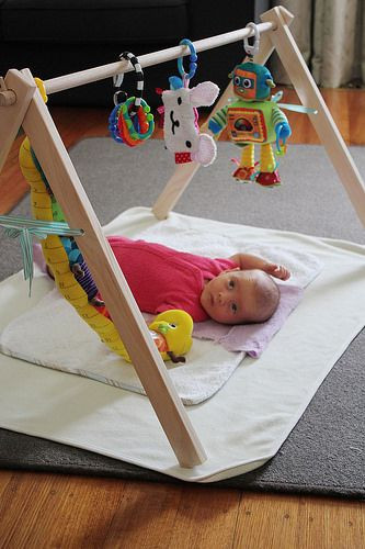 Baby Gym Diy  DIY wooden Baby Jungle Gym Montessori style