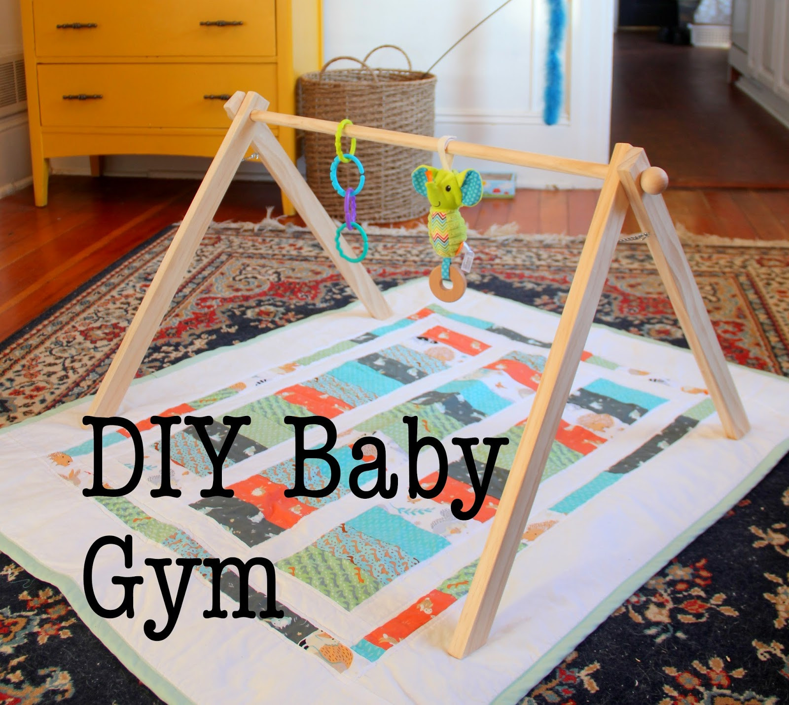 Baby Gym Diy  EAK A House DIY Baby Gym