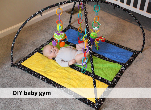 Baby Gym Diy  DIY baby gym rachel swartley