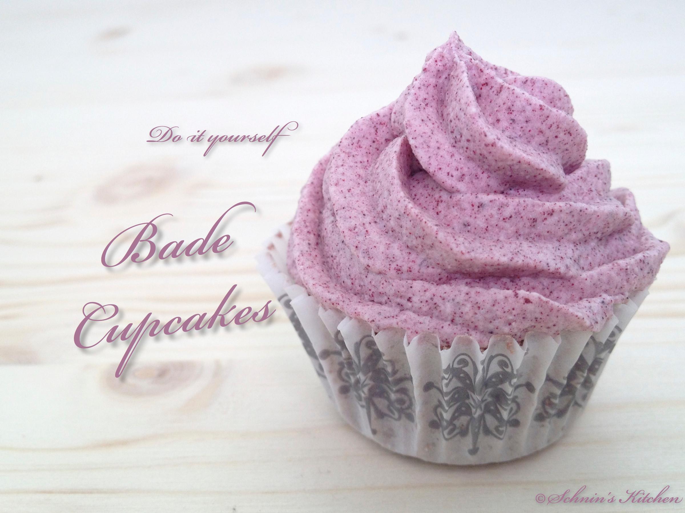 Badekugeln Diy  DIY Bade en Cupcakes für babyzarte Haut Schnin s