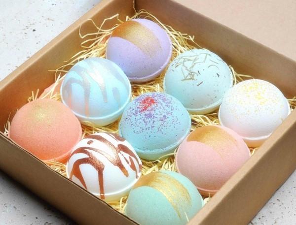 Badekugeln Diy  Badekugeln selber machen das ultimative DIY Ostergeschenk