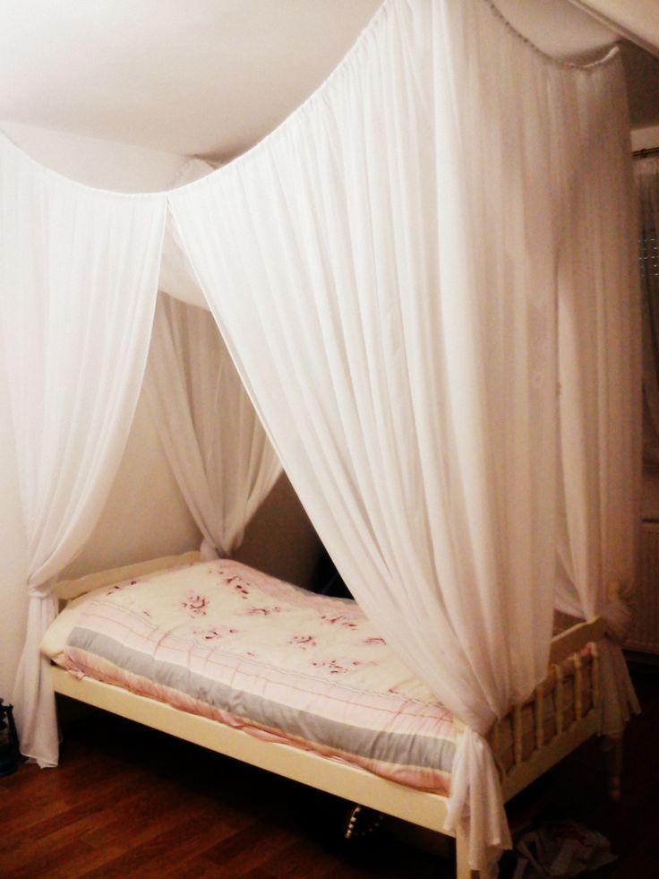Baldachin Diy  42 best images about Baldachin beds on Pinterest