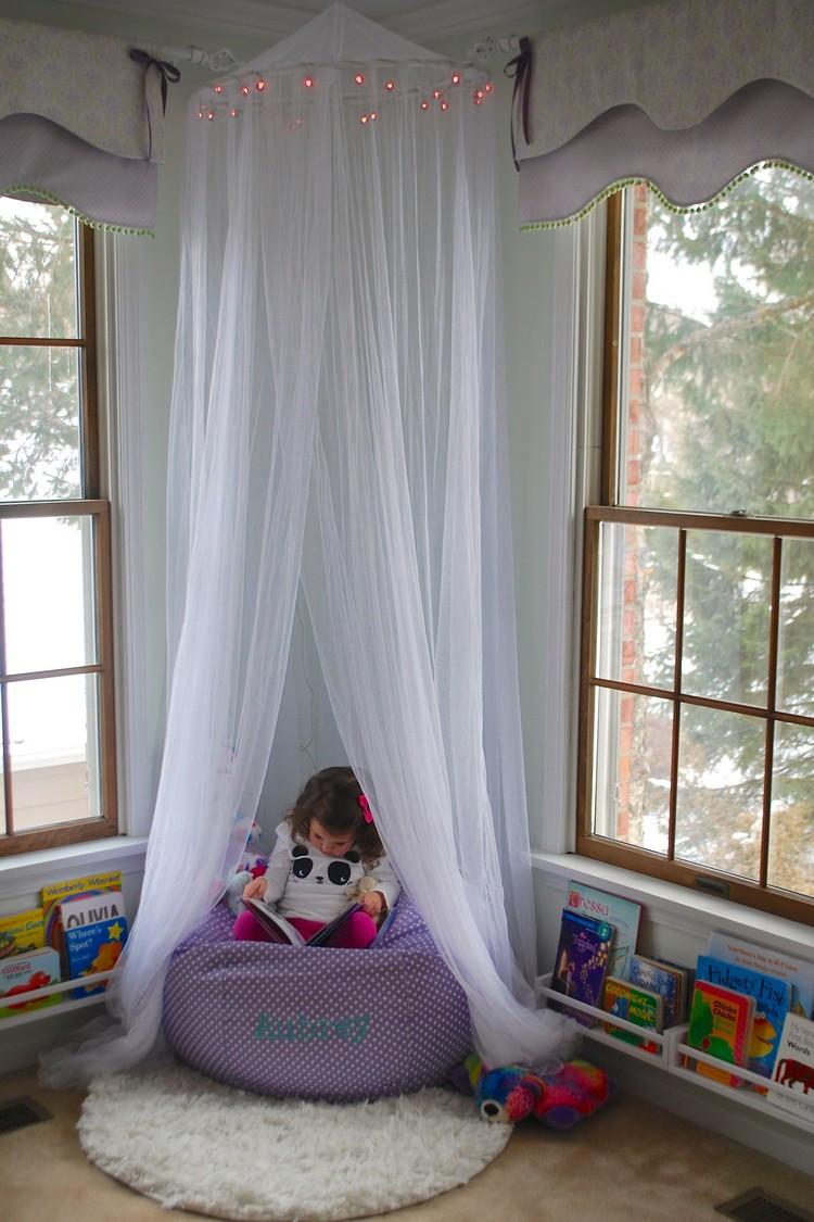 Baldachin Diy  DIY Ideen wie Sie einen Baldachin im Kinderzimmer selber