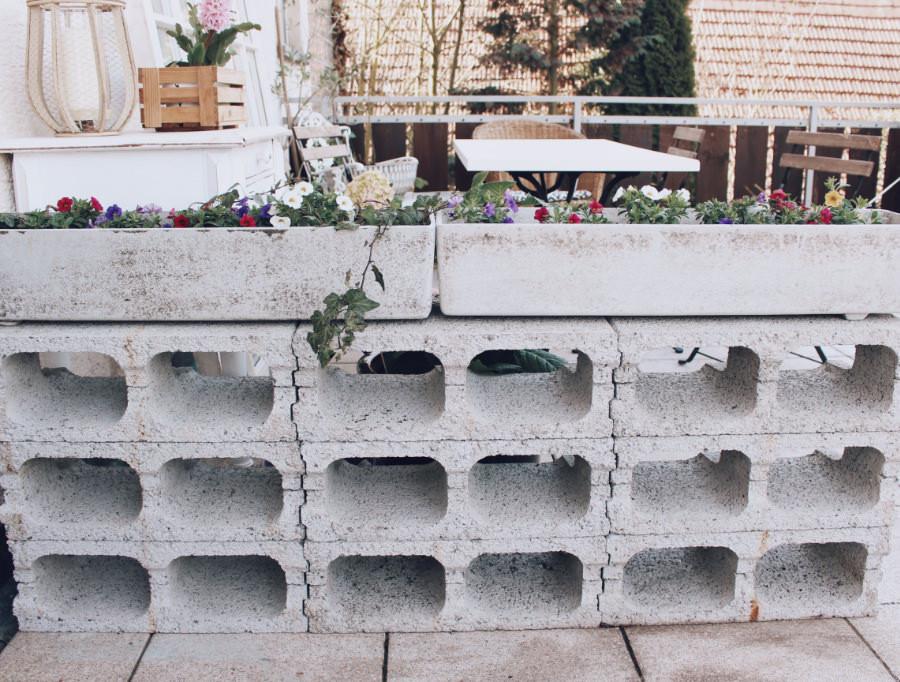 Balkon Deko Diy  DIY einfache Deko für den Balkon Blumendeko leicht gemacht