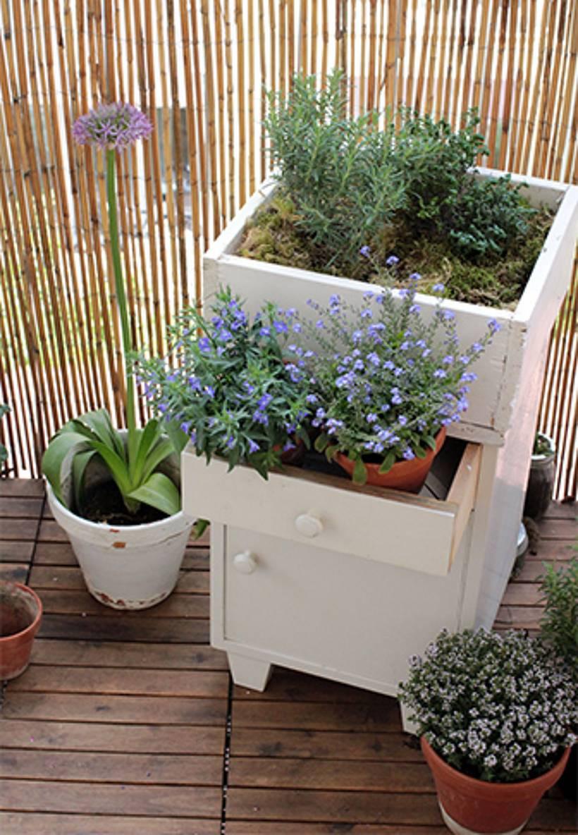 Balkon Diy  DIY Gefäße für den Balkon – Kreative Töpfe – EMSA