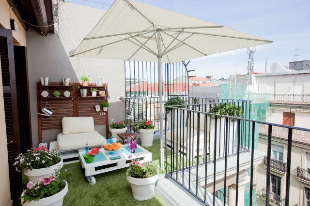 Balkon Diy  36 Balkon Ideen für den Sommer fresHouse