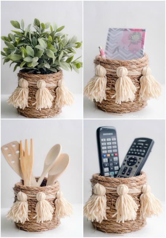 Bastelideen Diy  Kreative DIY Bastelideen mit Naturschnur jedes