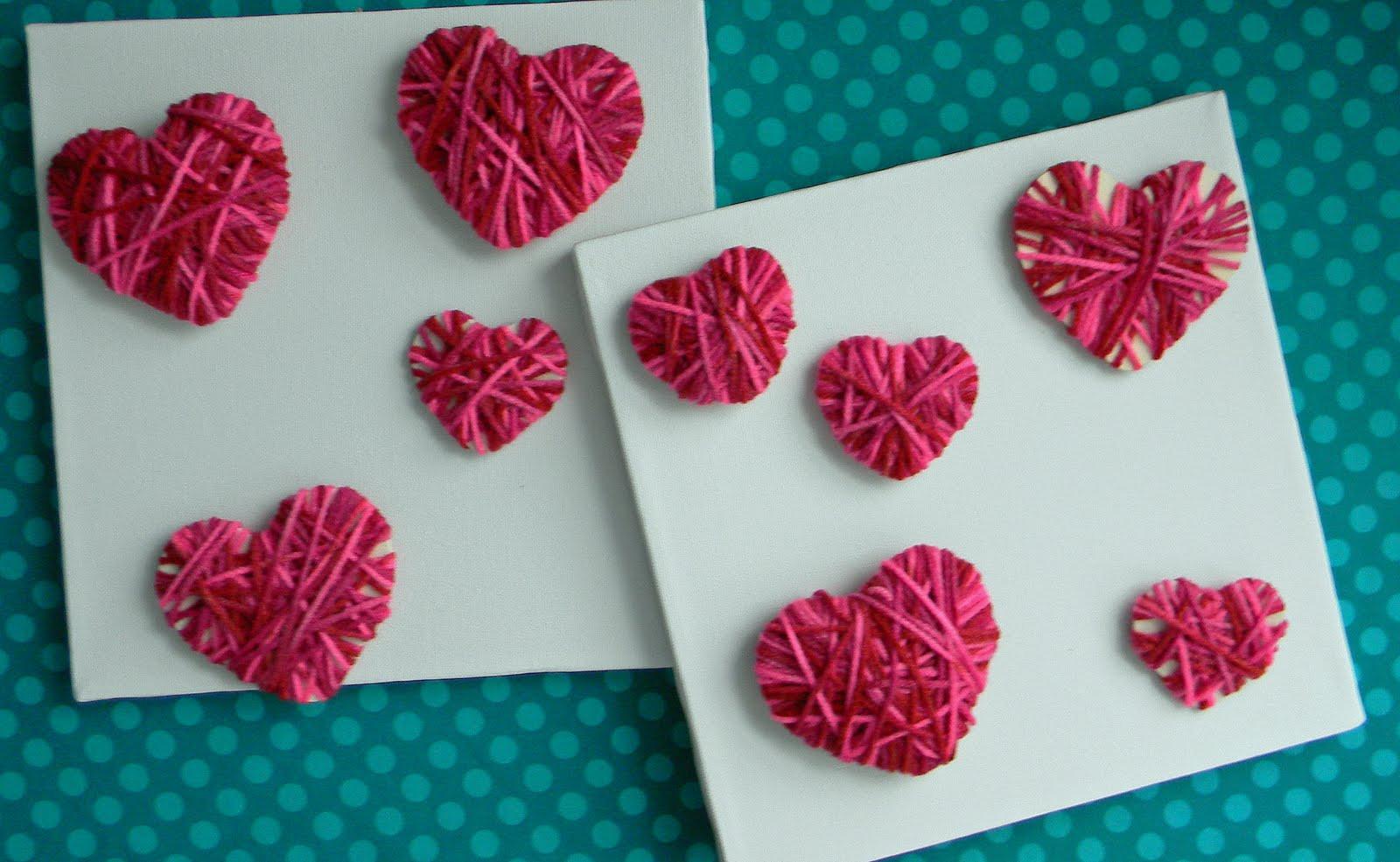 Bastelideen Diy  Valentinstag Karte Bastelideen für DIY Karte fresHouse