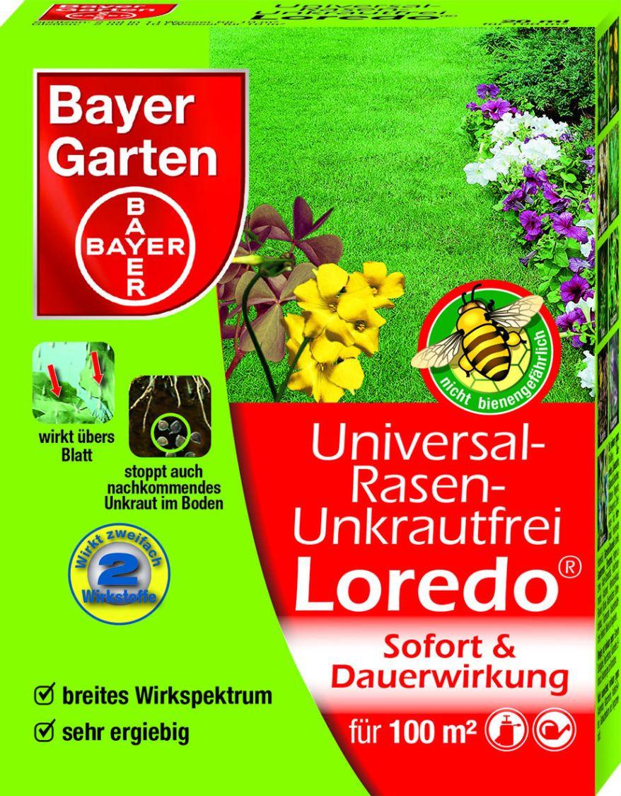 Bayer Garten  Universal Rasen Unkrautfrei Loredo SBM Bayer Garten