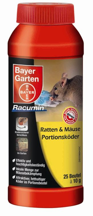 Bayer Garten  Bayer Garten Ratten & Mäuse Portionsköder Gegen