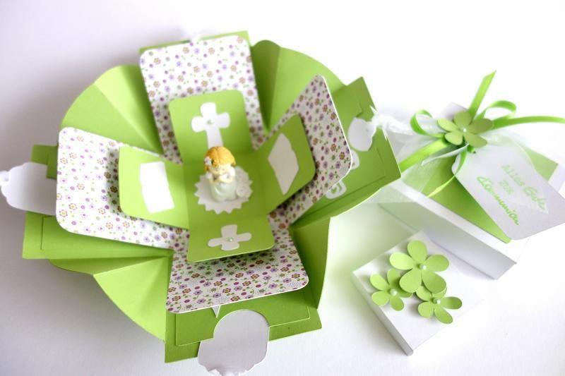 Besondere Geschenke Kommunion  Geldgeschenk zur Kommunion Mädchen von blattsalat auf