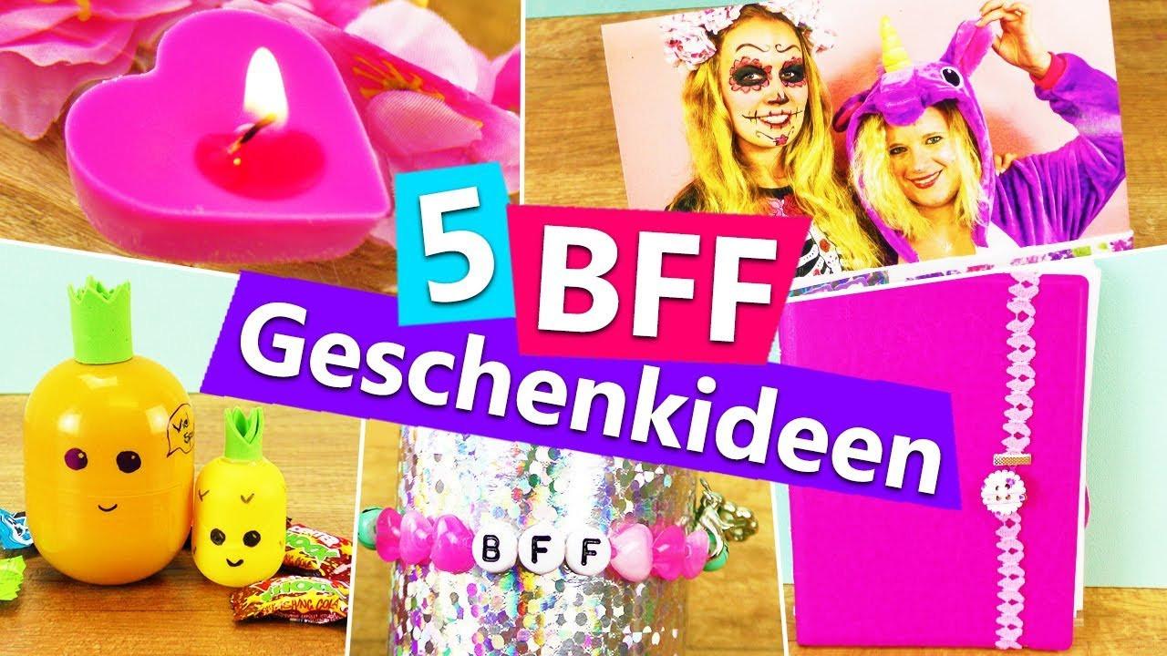 Beste Geburtstagsgeschenke  5 DIY GESCHENKIDEEN für beste Freundin