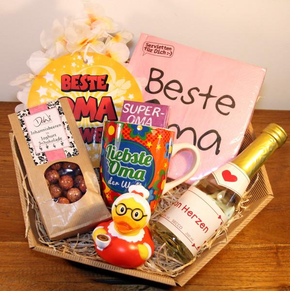 Beste Oma Geschenke  Geschenke für Frauen Beste Oma Geschenke Geschenkkorb