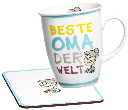 Beste Oma Geschenke  Ritzenhoff & Breker Kaffeebecher Beste Oma der Welt