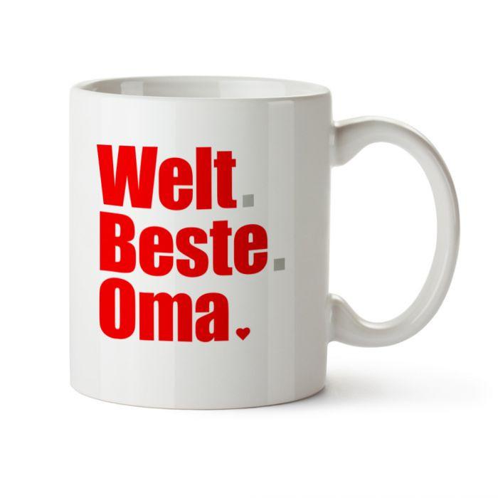Beste Oma Geschenke  Tasse Welt Beste Oma tolles Geschenk für Omis