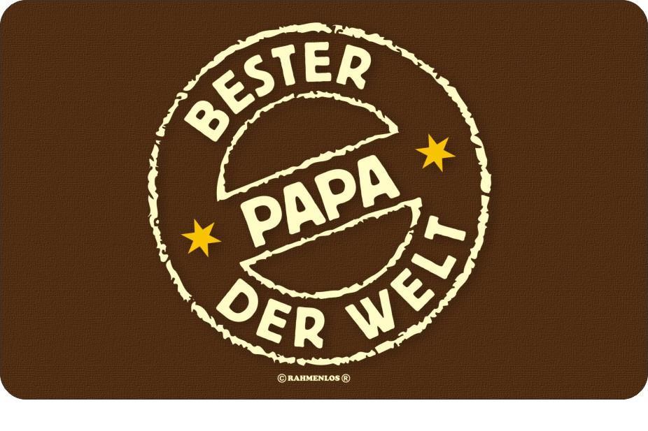 Bester Papa Der Welt Geschenke  Brettchen Bester Papa der Welt