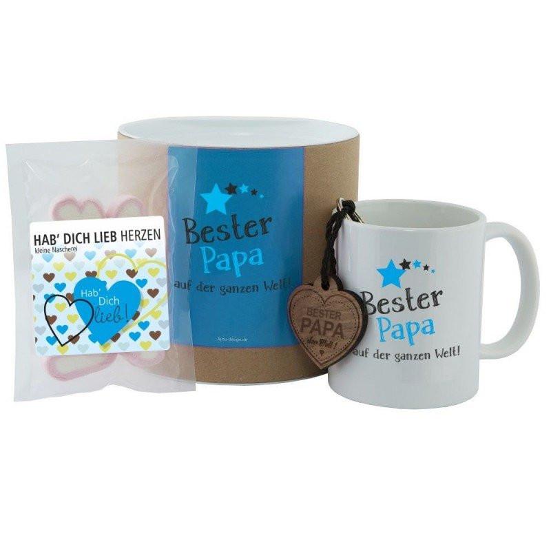 Bester Papa Der Welt Geschenke  Geschenkset Bester Papa auf der ganzen Welt Tasse