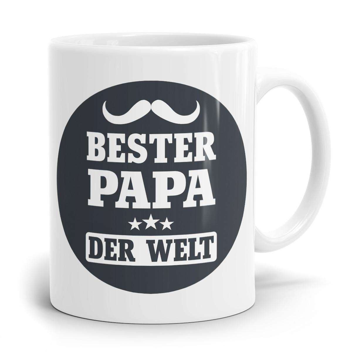 Bester Papa Der Welt Geschenke  Sprüchetasse Natürlich hast Du den Besten Papa der Welt