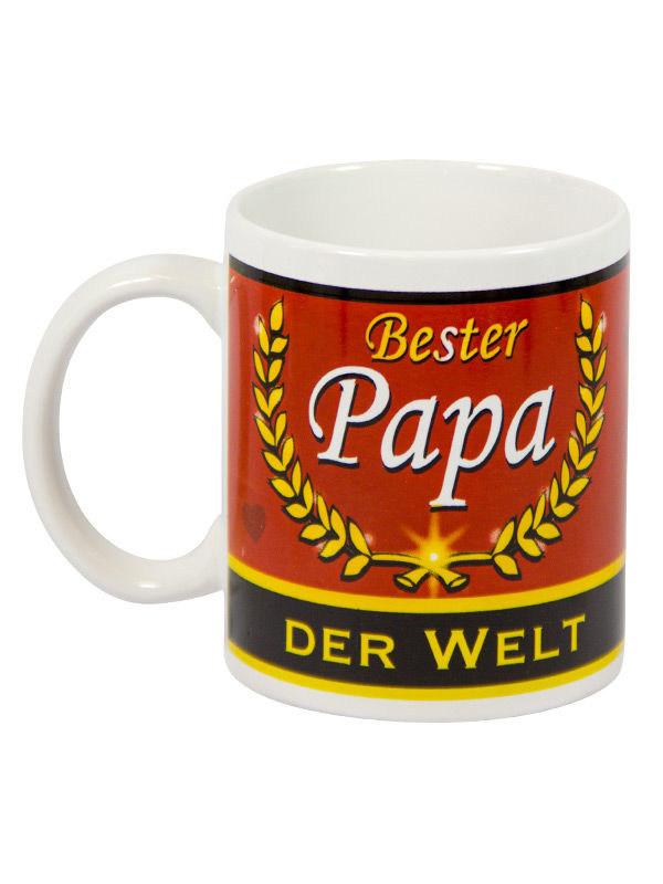 Bester Papa Der Welt Geschenke  Kaffeetasse Bester Papa der Welt Vatertagsgeschenk