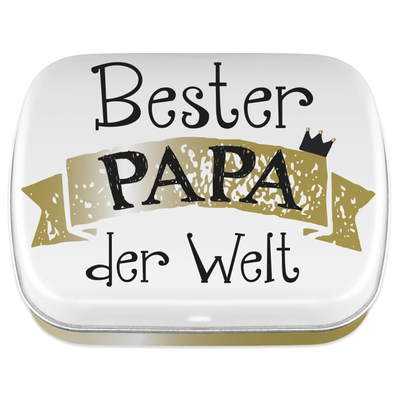 Bester Papa Der Welt Geschenke  Mintdose Bester Papa der Welt