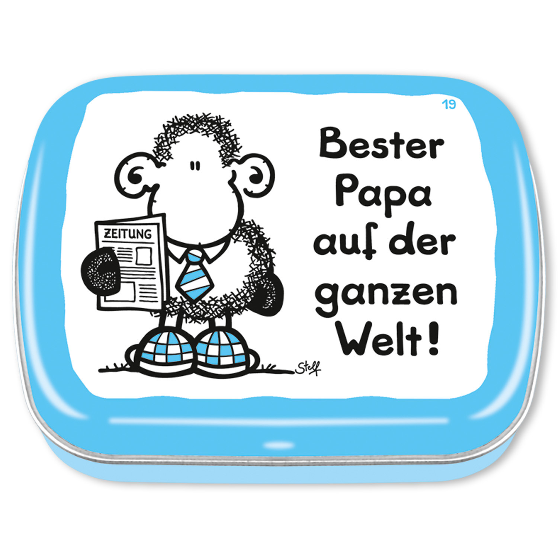 Bester Papa Der Welt Geschenke  Mintdose Bester Papa auf der ganzen Welt