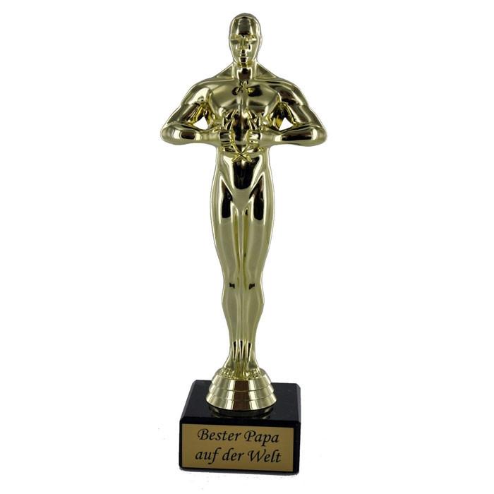 Bester Papa Der Welt Geschenke  Siegerfigur Geschenk Bester Papa der Welt
