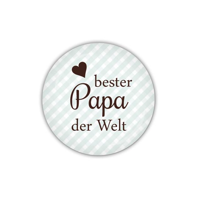 Bester Papa Der Welt Geschenke  Accessoires Button 38mm bester Papa der Welt 04 0239