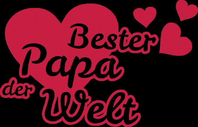 Bester Papa Der Welt Geschenke  ShirtPresswerk SPW Bester Papa der Welt