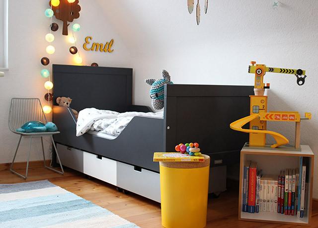 Bett Für Jungs  Ein Bett für unseren kleinen großen Mini – sanvie mini