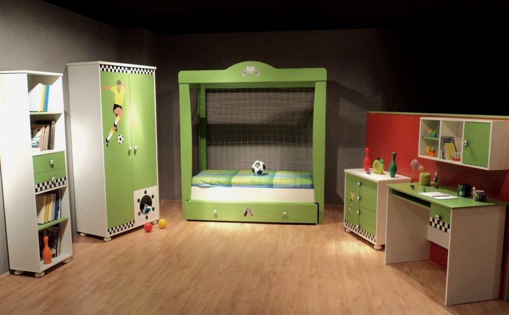 Bett Für Jungs  Kinderzimmer Fußball Bett für Jungs und Mädchen Kinder