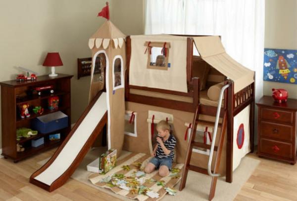 Bett Für Jungs  Originelle Kinderzimmergestaltung einzigartige Betten für