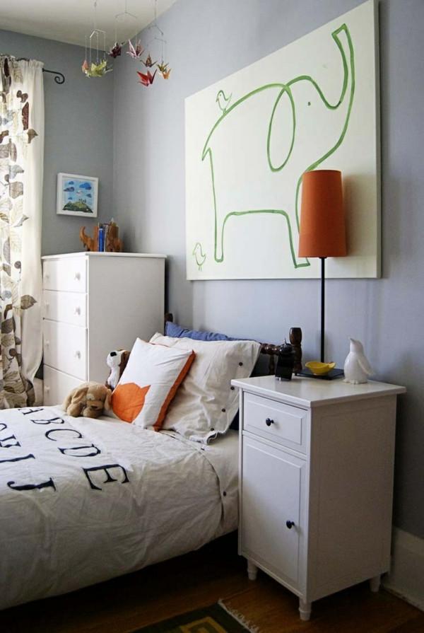 Bett Für Jungs  Kinderzimmer für Jungs farbige Einrichtungsideen