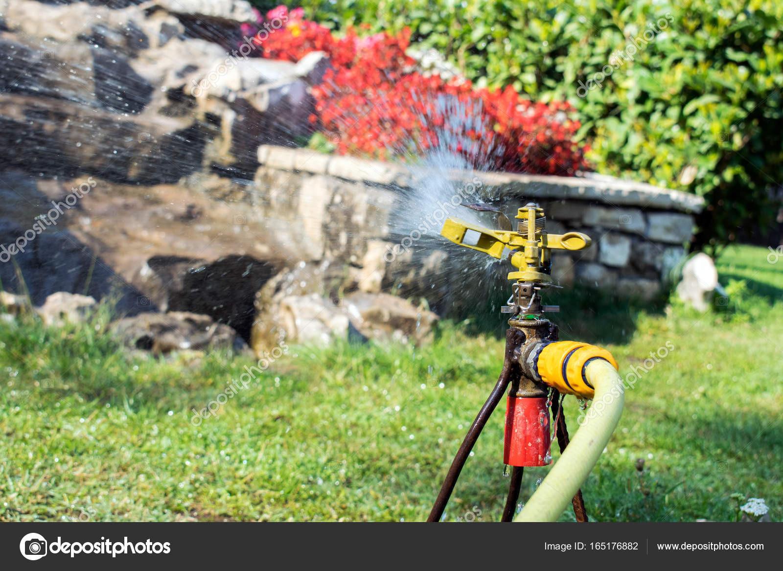 Bewässerungssystem Garten  Garten Bewässerungssystem Bewässerung Rasen Bewässerung