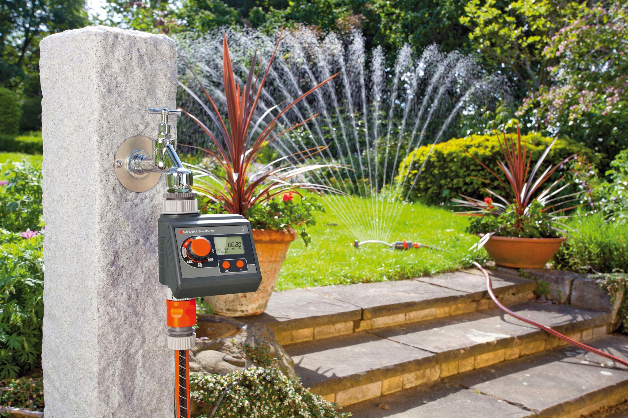 Bewässerungssystem Garten  Intelligente Bewässerung für einen gepflegten Garten
