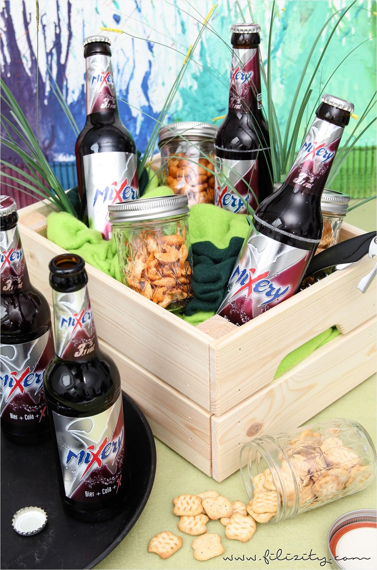 Bier Geschenke Selber Machen  Biergarten Last Minute Geschenk zum Vatertag HANDMADE
