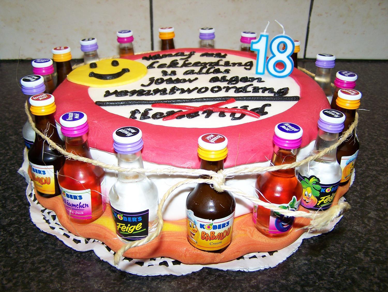 Bild Geburtstagstorte  Geburtstagstorte Zum 18 Selber Machen