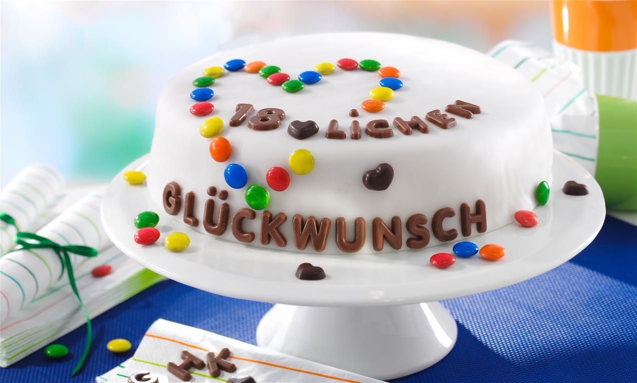 Bild Geburtstagstorte  Schnelle Geburtstagstorte Rezept