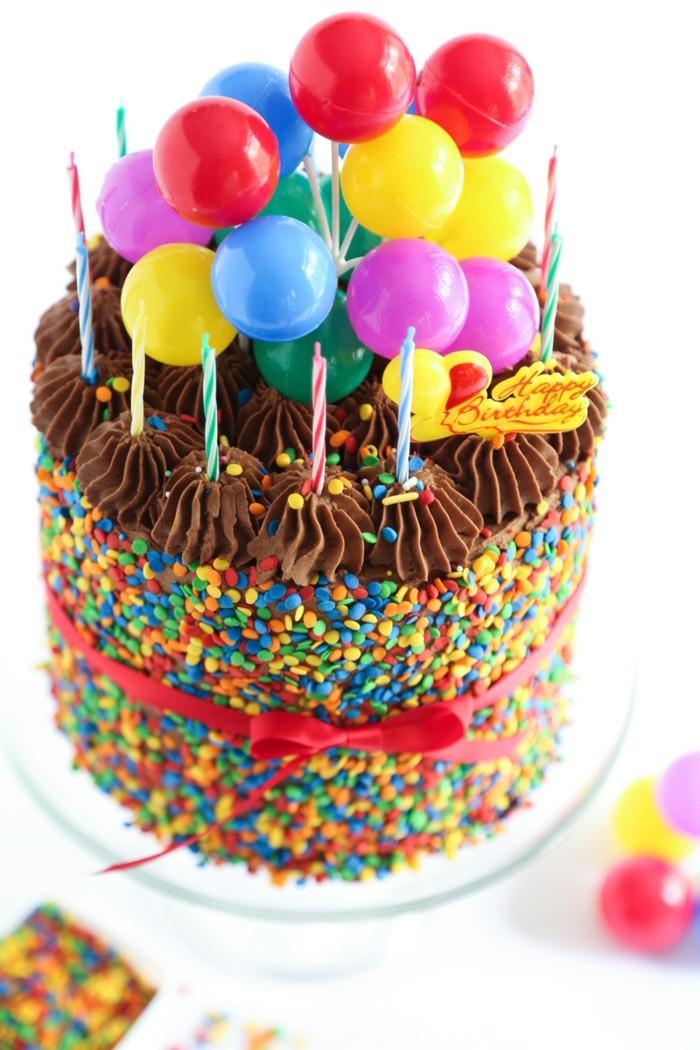 Bild Geburtstagstorte  Geburtstagstorte 26 Tortenmodelle als Hilfe für