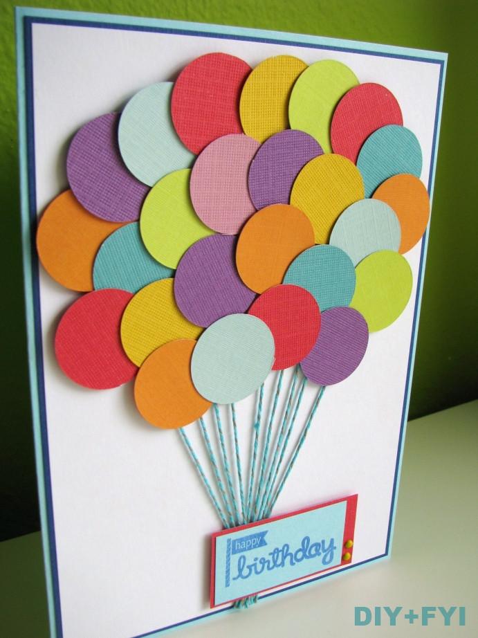 Birthday Cards Diy  handmade cards diy fyi