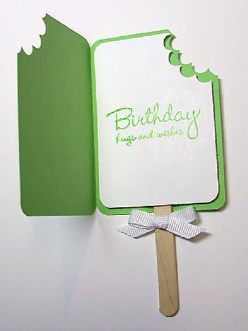 Birthday Cards Diy  32 Handmade Birthday Card Ideas and